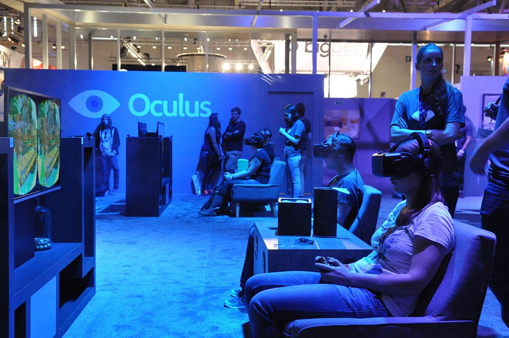 Oculus demo Web Virtual Reality