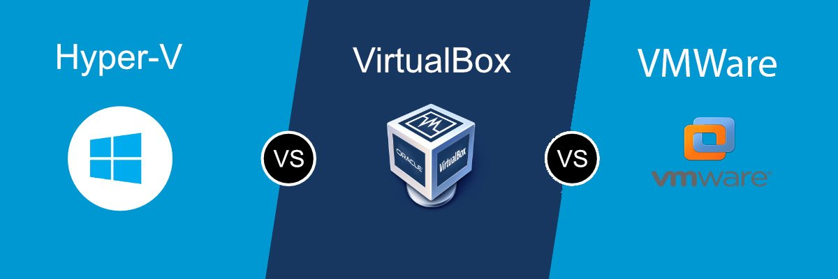 comparing virtualization tools: Hyper-V vs VirtualBox vs VMWare