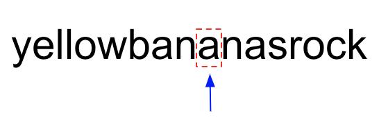 palindromic substring problem visualization 6