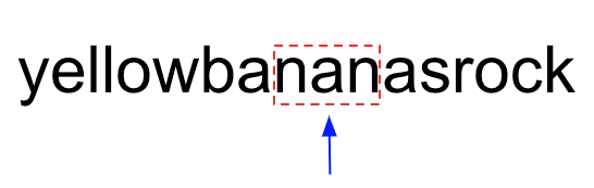 palindromic substring problem visualization 7