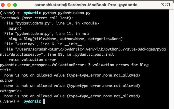 pydantic validation errors